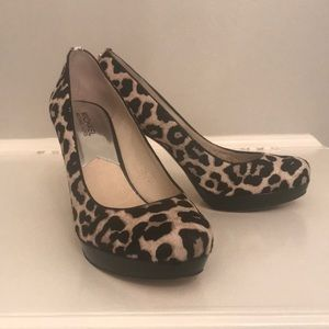 Michael Kors Leopard Heels